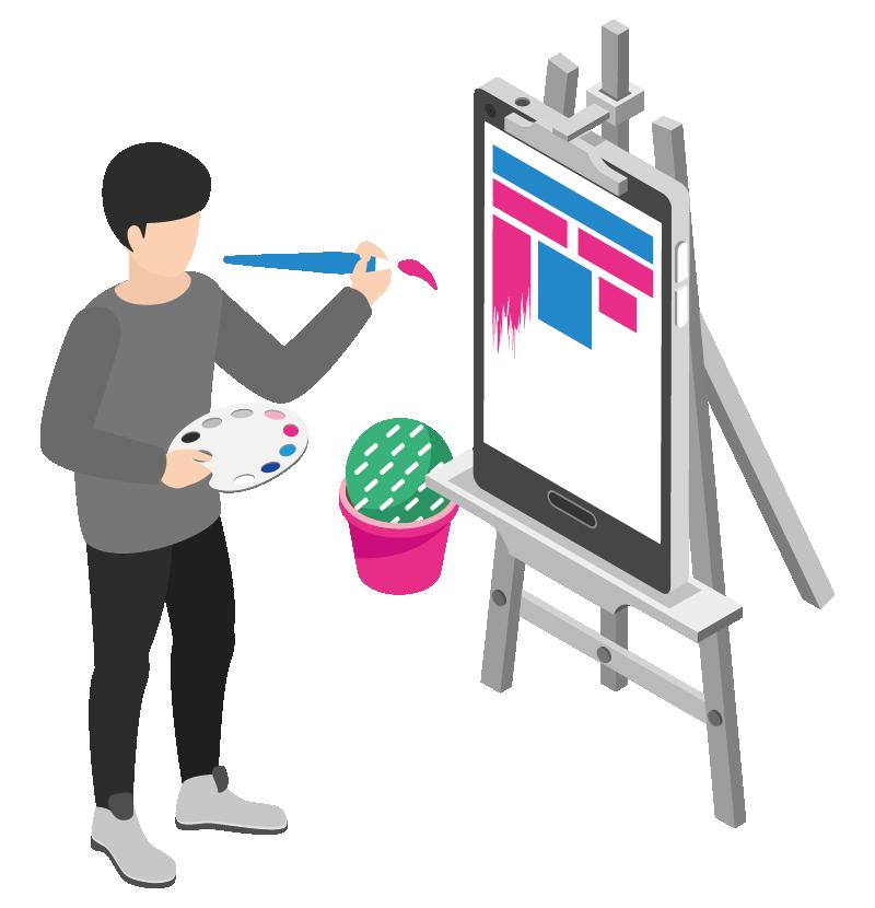 Webdesign und Branddesign